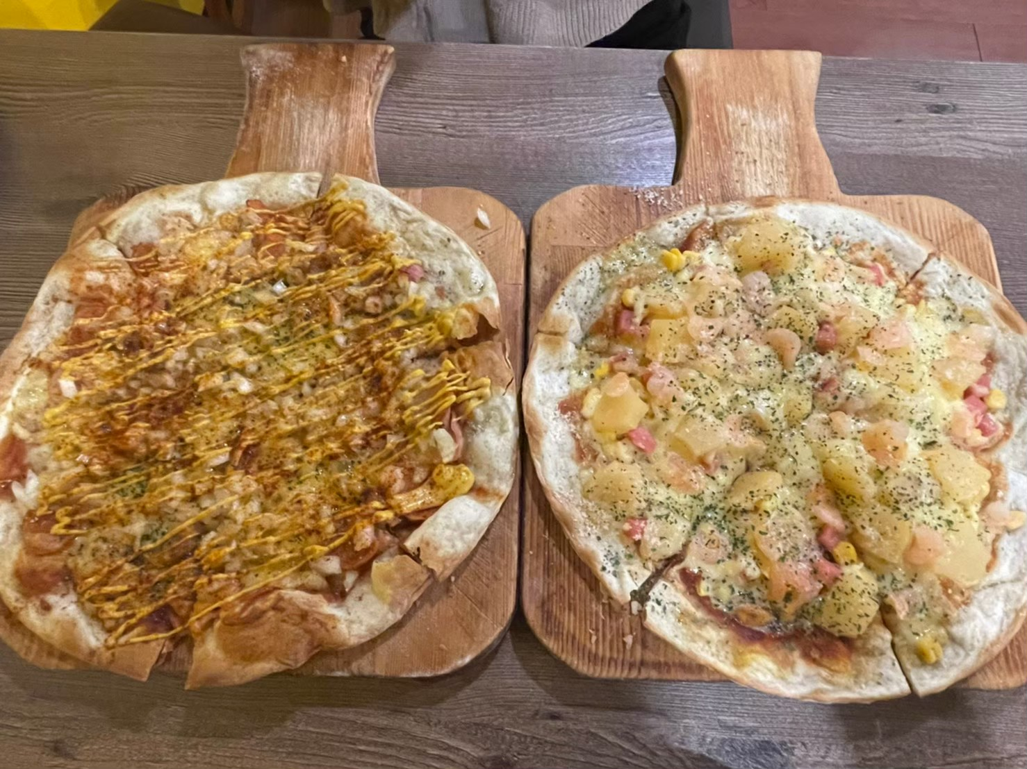 桃園中壢。大窯大擺手工窯烤披薩 | 中壢聚餐 | 中壢Pizza | 薄皮比薩