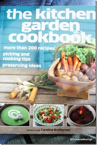 Cover of the Kitchen Garden Cookbook by DK Books