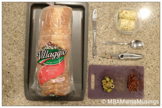 Villaggio Bread Easy Garlic Loaf