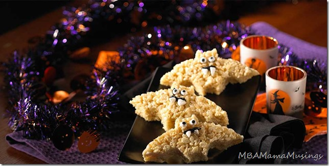 Rice Krispies Halloween Bat Treats