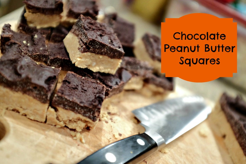 Chocolate Peanut Butter Squares Whatscooking Mbamamamusings