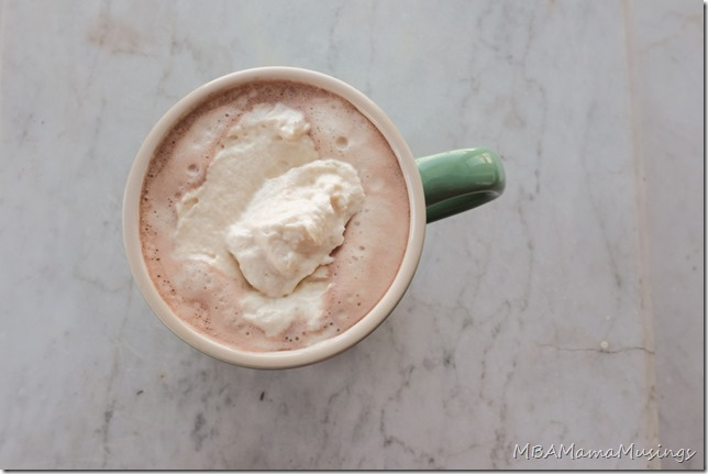 how to make whipped hot chocolate butter