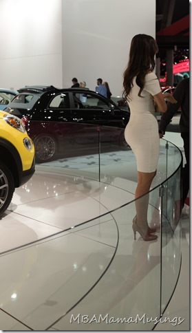 Spokesmodel at NAIAS