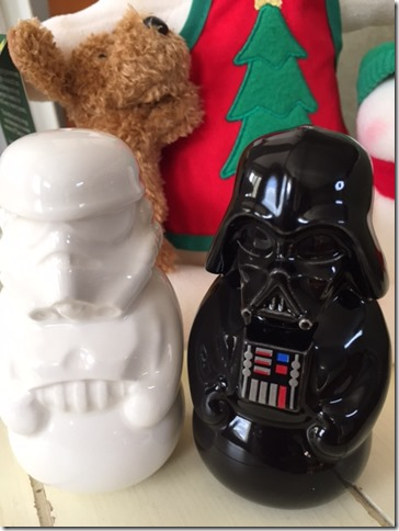 Star Wars Salt & Pepper Shakers ThriftyMommyMedia