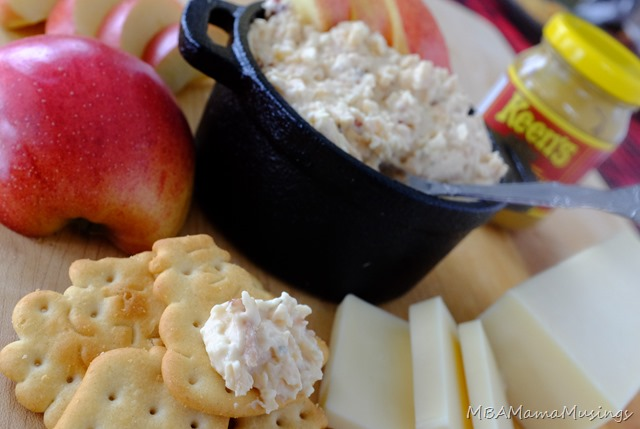 Apple Maple Cheddar Spread from Mairlyn Smith's Homegrown