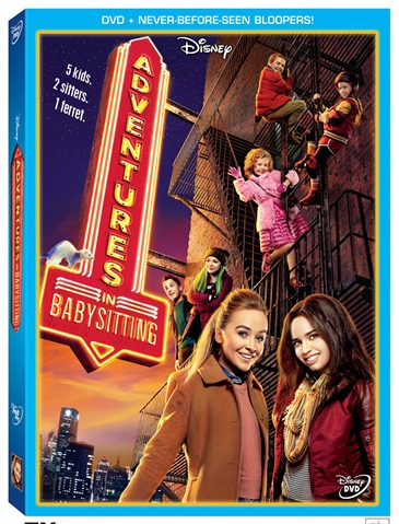 Adventures in Babysitting 2016 Disney DVD