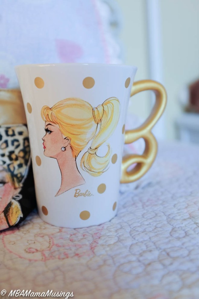 Hallmark Classic Barbie Profile Ceramic Mug