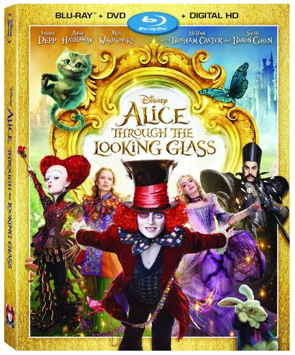 Alice Through The Looking Glass Blu-Ray DVD