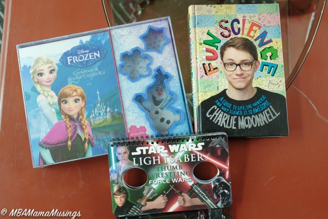 Books for Kids Fun Science Frozen Cookbook Star Wars Thumb Wars