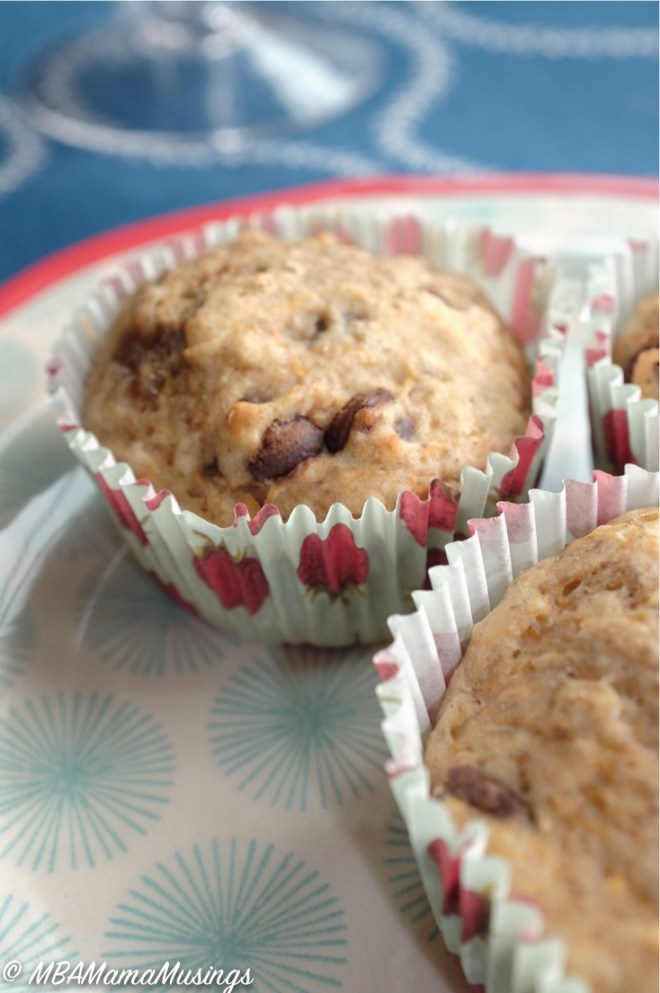 Fairytale Pumpkin and Banana Muffins - low in added sugar and packed with all sorts of good for you ingredients