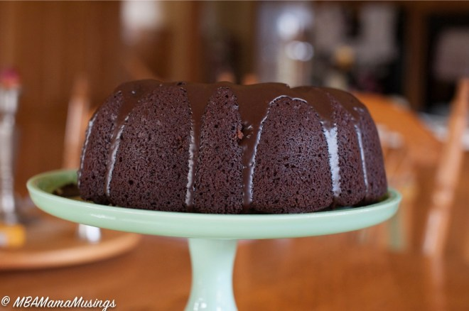 One-Bowl Chocolate Bundt Cake