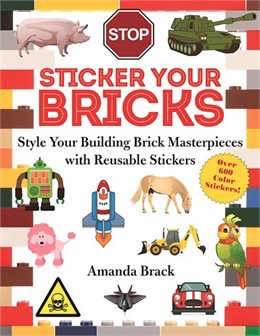 Stickers for plain Lego sets Reusable Lego Stickers