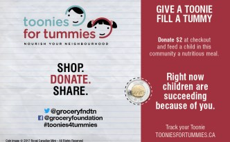 #Toonies4Tummies Breakfast Club Canada Campaign 2017