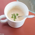 Smoked Gouda Apple Soup