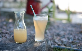 Honey Ginger non-alcoholic drink recipe