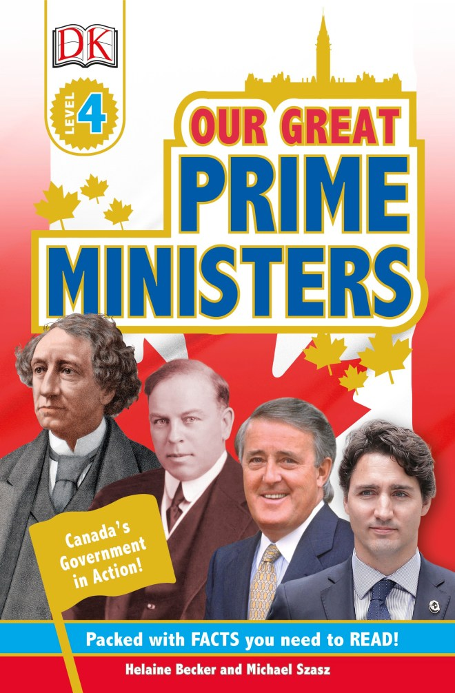 Prime Ministers of Canada Canadian Author