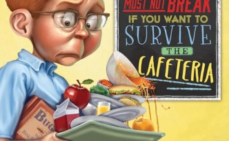 Back to School Nerves Seven Rules Survive Cafeteria