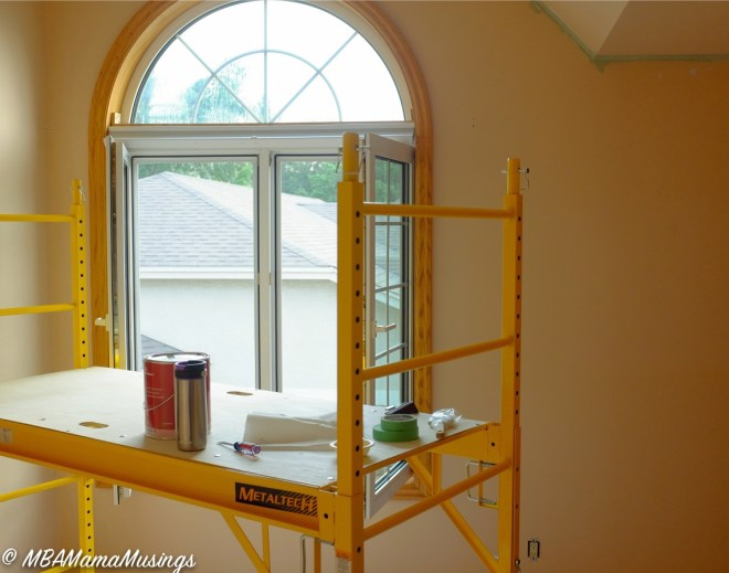 Yellow Room Large Window Metaltech Home Scaffolding