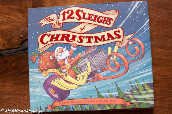 12 Sleighs of Christmas Children's book Imagination Santa's Sleigh