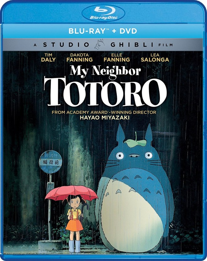 My Neighbor Toro Studio Ghibli Tim Daly Dakota Fanning Elle Fanning Lea Salonga