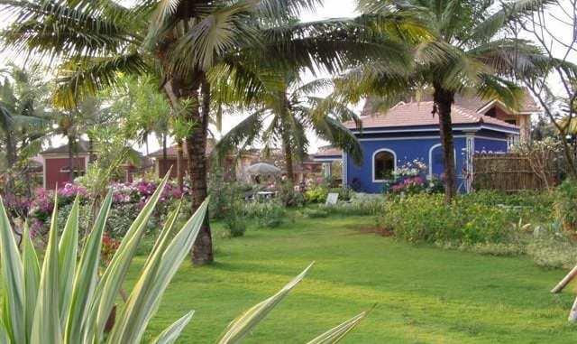 Goa's resort villa.