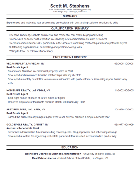 online-resume