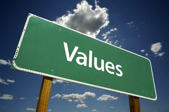 Decisions are easy to make if you are sure of your values