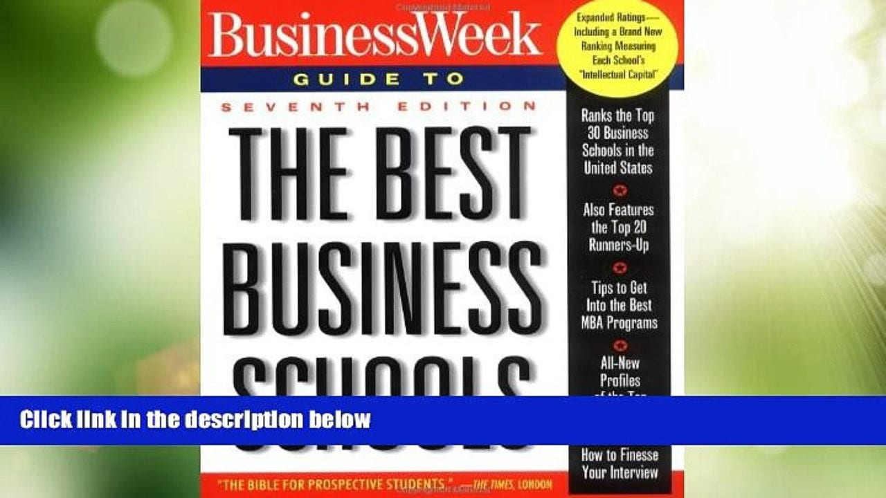 BW Guide to The Best Business Schools