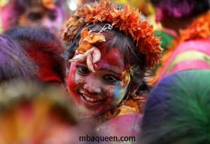 Праздник Холи в Индии в 2014 году - 17-18 марта