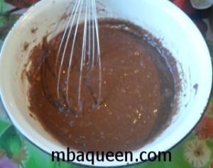 Маффины шоколадно-банановые