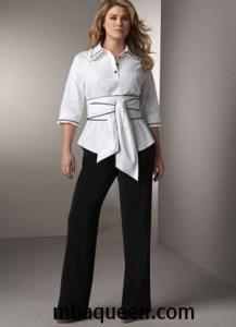 Коррекция недостатков женской фигуры в одежде