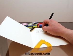 Как сделать красивую открытку своими руками с оформлением внутри
