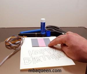 Как сделать красивую открытку своими руками, украсив лентами