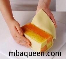 Английский кекс Баттенберг - эффектный десерт