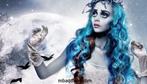 Образ мертвой невесты на Хэллоуин