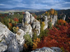 Осень в заповеднике Чешский рай