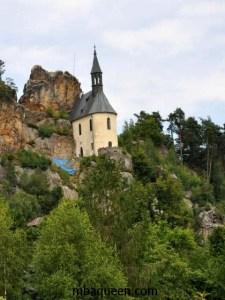 Чешский рай - замок Вранов