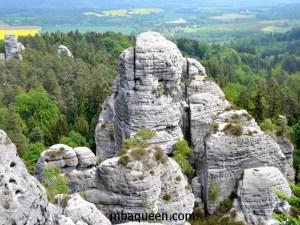 Скалы заповедника Чешский рай
