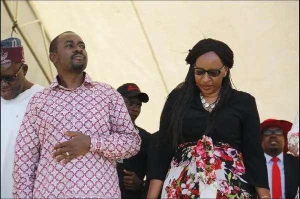 Nelson Chamisa and Wife