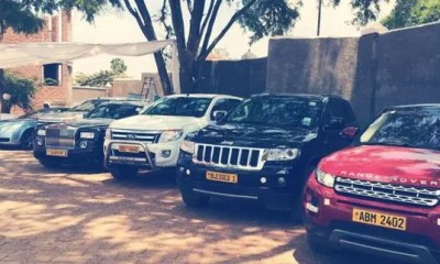Ministers cars