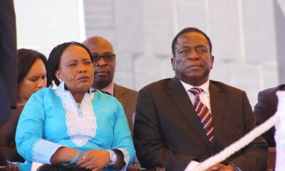 President-Emmerson-Mnangagwa and wife
