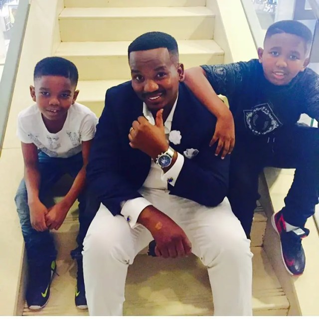 Sfiso Ncwane and his boyz