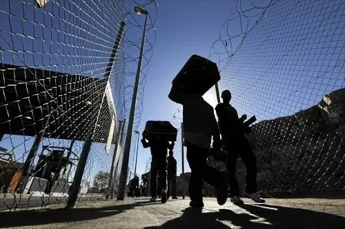 Beitbridge Border Post Fence