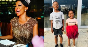 Kelly Khumalo and Kids