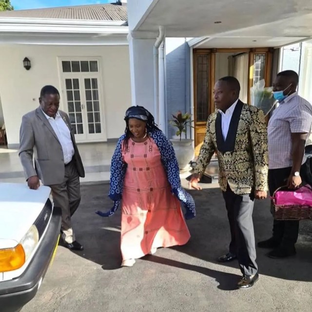 President Mnangagwa and Family