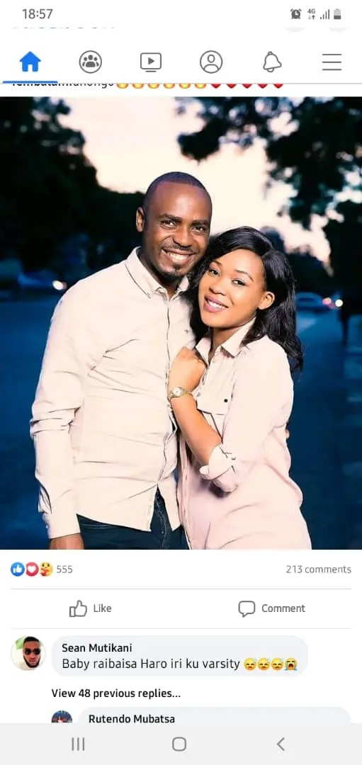 Thembalami and wife