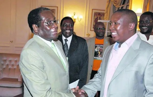 Malema and Mugabe