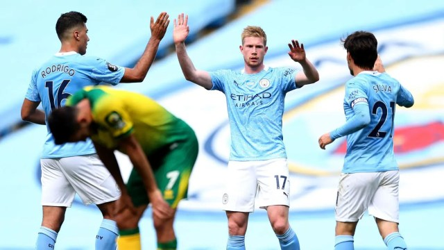 Manchester City 5 -0 Norwich