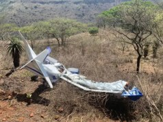 Zambezi valley Plane-Crash