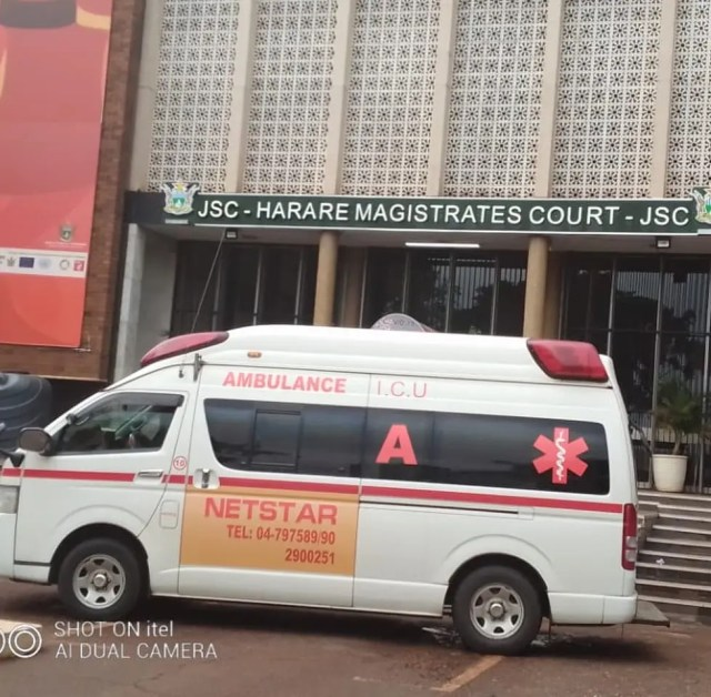 Marry Mubaiwa ambulance